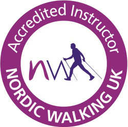 personal trainer Bristol Nordic Walking UK Accredited Instructor Logo
