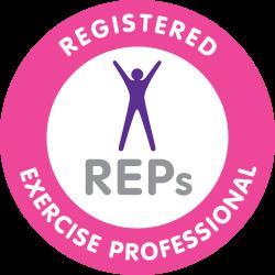 personal trainer Bristol REPS logo